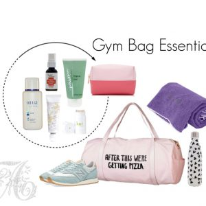 Skin Care Essentials for the Gym Bag